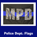 Police Deapartment Flags