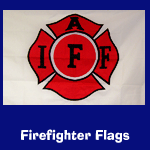 firefighter flags