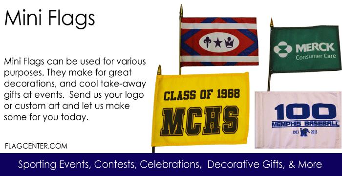 Custom Mini Flags